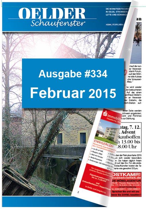 Oelder Schaufenster Feb. 2015